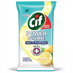 Cif  Multisurface  wipes citrus