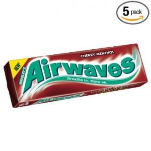 Airwaves Cherry Menthol pellets