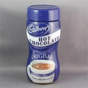 Cadburys Hot chocolate jar