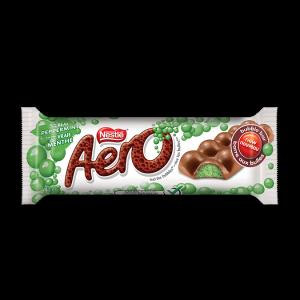 Aero Bubbly peppermint bar