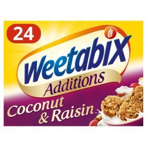 Additions Raisin & Coconut