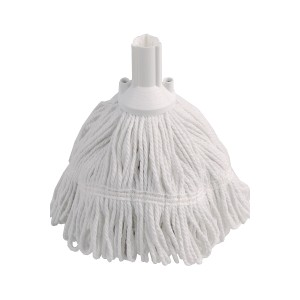 Complete mop with white thread