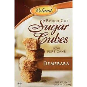 Rough cube sugar brown