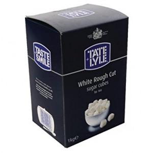 Rough cube sugar white