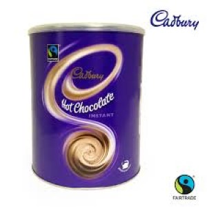 Cadbury Hot Chocolate tin