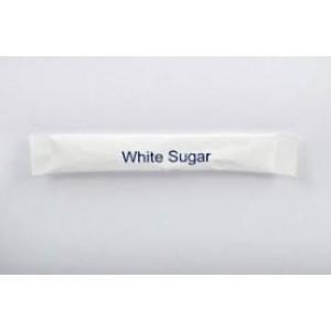 Sugar sticks white