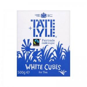 Cube sugar white